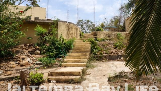 cleared Tripp lot stairs 2 levels of foundation